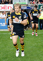 Photo: Richard Lane/Richard Lane Photography.London Wasps v Worcester Warriors. Guinness Premiership. 20/09/2009. Wasps' Lachlan Mitchell runs out.