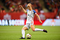 Vancouver, Canada - Thursday November 09, 2017: Becky Sauerbrunn during an International friendly match between the Women's National teams of the United States (USA) and Canada (CAN) at BC Place.