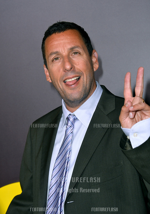 Adam Sandler at the premiere for &quot;Sandy Wexler&quot; at The Cinerama Dome. Los Angeles, USA 06 April  2017<br /> Picture: Paul Smith/Featureflash/SilverHub 0208 004 5359 sales@silverhubmedia.com