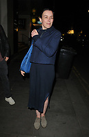 "Olivia Williams at the ""Rosmersholm"" theatre cast stage door departures, Duke of York's Theatre, St Martin's Lane, London, England, UK, on Wednesday 15th May 2019.<br /> CAP/CAN<br /> ©CAN/Capital Pictures"