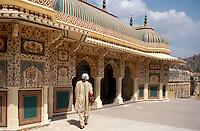 Festung Amber, bei Jaipur (Rajasthan), Indien
