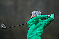 Luke O'Neill (Connemara GC) during the final round of the Peter McEvoy Trophy played at Copt Heath Golf Club, Solihull, England. 12/04/2018.<br /> Picture: Golffile | Phil Inglis<br /> <br /> <br /> All photo usage must carry mandatory copyright credit (&copy; Golffile | Phil Inglis)