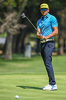 Rafael Cabrera Bello (ESP) watches his putt on 16 during the preview of the World Golf Championships, Mexico, Club De Golf Chapultepec, Mexico City, Mexico. 2/28/2018.<br /> Picture: Golffile | Ken Murray<br /> <br /> <br /> All photo usage must carry mandatory copyright credit (&copy; Golffile | Ken Murray)