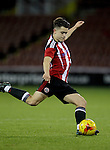 Sheffield United's Thomas Charlesworth  during the FA Youth Cup First Round match at Bramall Lane Stadium, Sheffield. Picture date: November 1st 2016. Pic Richard Sellers/Sportimage
