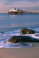 Malibu Pier<br /> Malibu Surfrider State Beach<br /> Los Angeles County<br /> California