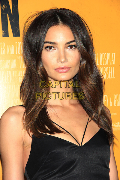 NEW YORK, NY - FEBRUARY 4: Lily Aldridge attends the New York Premiere of &quot;The Monuments Men&quot; at the Ziegfeld Theatre on February 4, 2014 in NEW YORK CITY<br /> <br /> CAP/LNC<br /> &copy;TOM/LNC/Capital Pictures