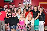 CELEBRATIONS: A great night at McElligotts Bar, Ardfert, on Saturday as Serena Griffin (seated centre) celebrated her 21st Birthday with family and friends..