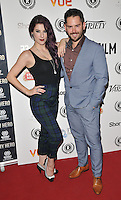 "Jasz Vegas & Martin Delaney attend the ""My Hero"" Raindance Film Festival UK film premiere, Vue Piccadilly cinema, Lower Regent Street, London, England, UK, on Friday 25 September 2015. <br /> CAP/CAN<br /> ©Can Nguyen/Capital Pictures"