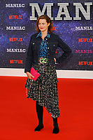 LONDON, ENGLAND - SEPTEMBER 13:   Jasmine Guinness attending the World premiere of the new Netflix series 'Maniac' at Southbank Centre on September 13, 2018 in London, England.<br /> CAP/MAR<br /> &copy;MAR/Capital Pictures