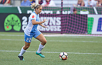 Portland, OR - Saturday August 19, 2017: Camille Levin during a regular season National Women's Soccer League (NWSL) match between the Portland Thorns FC and the Houston Dash at Providence Park.