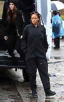 www.acepixs.com<br /> <br /> January 24 2017, New York City<br /> <br /> (L-R)  Sandra Bullock and Rihanna on the Midtown Manhattan set of the new movie 'Ocean's Eight' on January 24 2017 in New York City<br /> <br /> By Line: Zelig Shaul/ACE Pictures<br /> <br /> <br /> ACE Pictures Inc<br /> Tel: 6467670430<br /> Email: info@acepixs.com<br /> www.acepixs.com