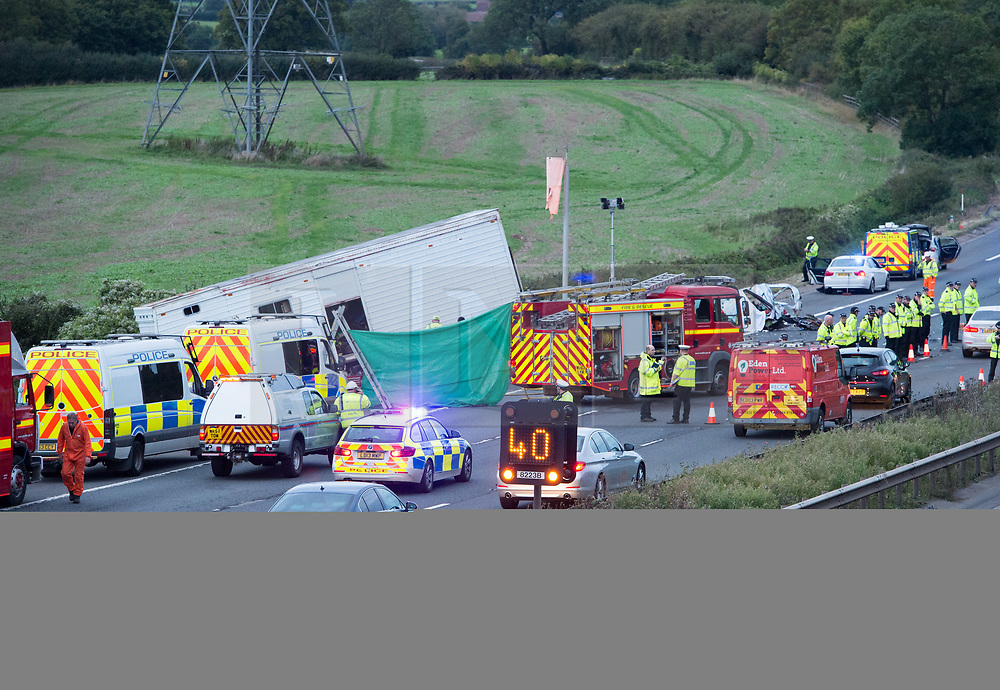 M5 fatal crash | London News Pictures