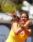 Switzerland's Patty Schnyder during his Madrid Open Semi final match.May 16 2009.(ALTERPHOTOS/Acero).