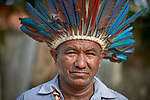 Augusto Miranha is a leader of the Nacoes Indigenas neighborhood in Manaus, Brazil. The neighborhood is home to members of more than a dozen indigenous groups, many of whose members have migrated to the city in recent years from their homes in the Amazon forest.