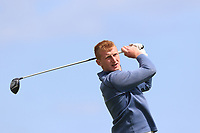 William Small (Tandragee) on the 10th tee during Round 4 of The East of Ireland Amateur Open Championship in Co. Louth Golf Club, Baltray on Monday 3rd June 2019.<br /> <br /> Picture:  Thos Caffrey / www.golffile.ie<br /> <br /> All photos usage must carry mandatory copyright credit (© Golffile | Thos Caffrey)
