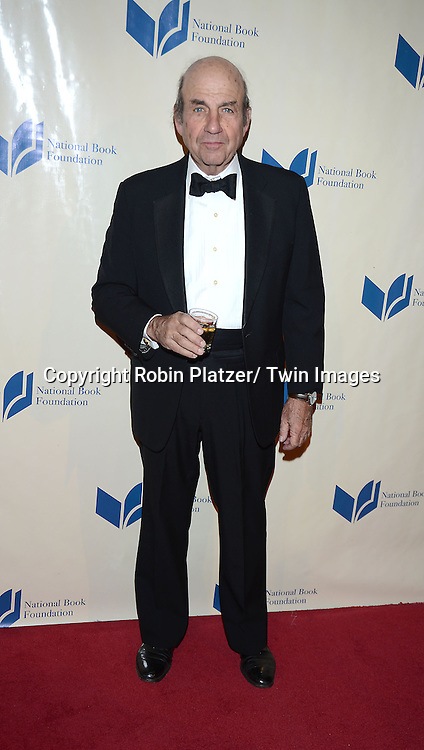 Calvin Trillin attends the 2013 National Book Awards Dinner and Ceremony on November 20, 2013 at Cipriani Wall Street in New York City.