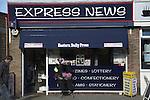 Express News newsagents shop, Cromer, Norfolk, England
