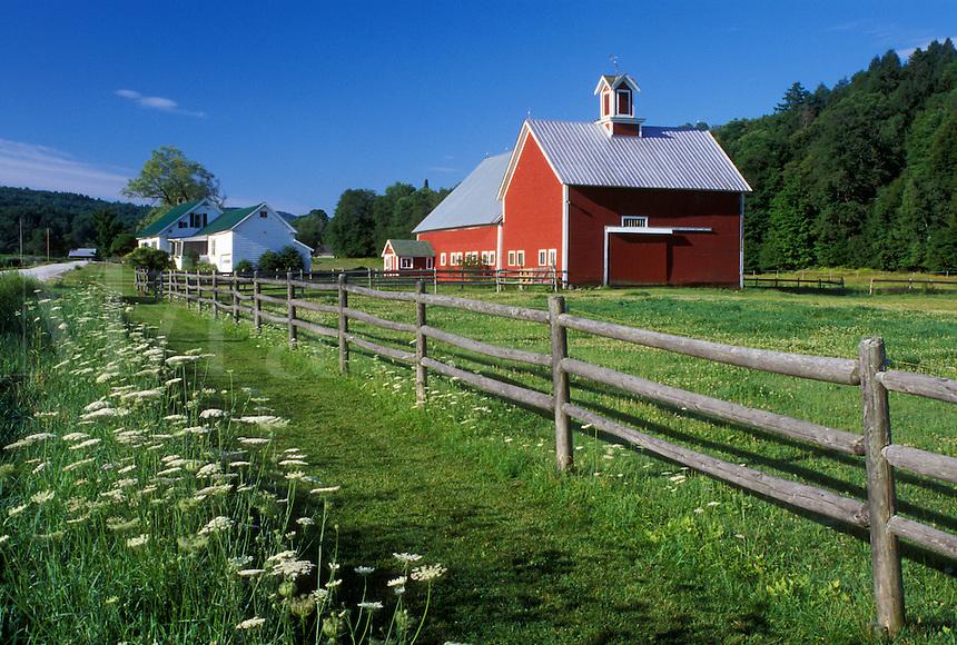 Vermont, VT, Red barn, Moretown