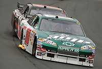 14 September 2008--Dale Earhardt Jr. leads during the Sylvania 300 at New Hampshire Motor Speedway in Loudon, NH.  (Brian Cleary/BCPix.com)
