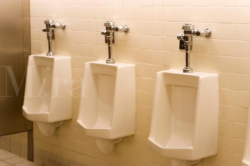 Men's urinals.