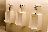 Men's urinals.
