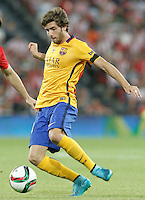 FC Barcelona's Sergi Roberto during Supercup of Spain 1st match.August 14,2015. (ALTERPHOTOS/Acero)