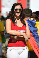 Photo before the match Brazil vs Ecuador, Corresponding Group -B- America Cup Centenary 2016, at Rose Bowl Stadium<br /> <br /> Foto previo al partido Brasil vs Ecuador, Correspondiante al Grupo -B-  de la Copa America Centenario USA 2016 en el Estadio Rose Bowl, en la foto: Fans<br /> <br /> <br /> 04/06/2016/MEXSPORT/Omar Martinez.