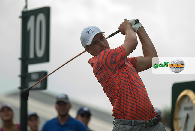 Jordan Spieth  (USA) during the Second Round of The Players, TPC Sawgrass, Ponte Vedra Beach, Jacksonville.   Florida, USA. 13/05/2016.<br /> Picture: Golffile | Mark Davison<br /> <br /> <br /> All photo usage must carry mandatory copyright credit (&copy; Golffile | Mark Davison)