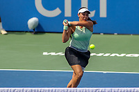 Washington, DC - August 4, 2019: Jessica Pegula (USA) in action during the Citi Open WTA Singles final at William H.G. FitzGerald Tennis Center in Washington, DC  August 4, 2019.  (Photo by Elliott Brown/Media Images International)