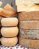 ITALY, Verona,  parmesan cheese for sale in market