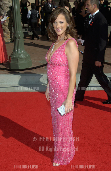 Actress MARLEE MATLIN at the 2004 Primetime Creative Arts Emmy Awards at the Shrine Auditorium, Los Angeles..September 12, 2004