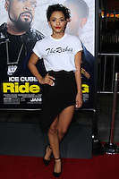 "HOLLYWOOD, CA - JANUARY 13: Kiersey Clemons at the Los Angeles Premiere Of Universal Pictures' ""Ride Along"" held at the TCL Chinese Theatre on January 13, 2014 in Hollywood, California. (Photo by David Acosta/Celebrity Monitor)"