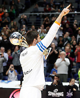 21/02/2014<br /> EUROLEAGUE BASKETBALL<br /> REAL MADRID - ZALGIRIS<br /> 9 FELIPE REYES Power (REAL MADRID)