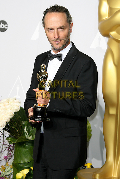 02 March 2014 - Hollywood, California - Emmanuel Lubezki. 86th Annual Academy Awards held at the Dolby Theatre at Hollywood &amp; Highland Center. <br /> CAP/ADM<br /> &copy;AdMedia/Capital Pictures