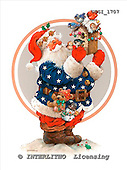 GIORDANO, CHRISTMAS SANTA, SNOWMAN, WEIHNACHTSMÄNNER, SCHNEEMÄNNER, PAPÁ NOEL, MUÑECOS DE NIEVE, paintings+++++,USGI1707,#X#