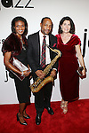 Walter Blanding and Guests AT JAZZ AT LINCOLN CENTER HONORS BOARD MEMBER MICA ERTEGUN AT THE VIP CELEBRATION AND OPENING OF THE NEW MICA AND AHMET ERTEGUN ATRIUM