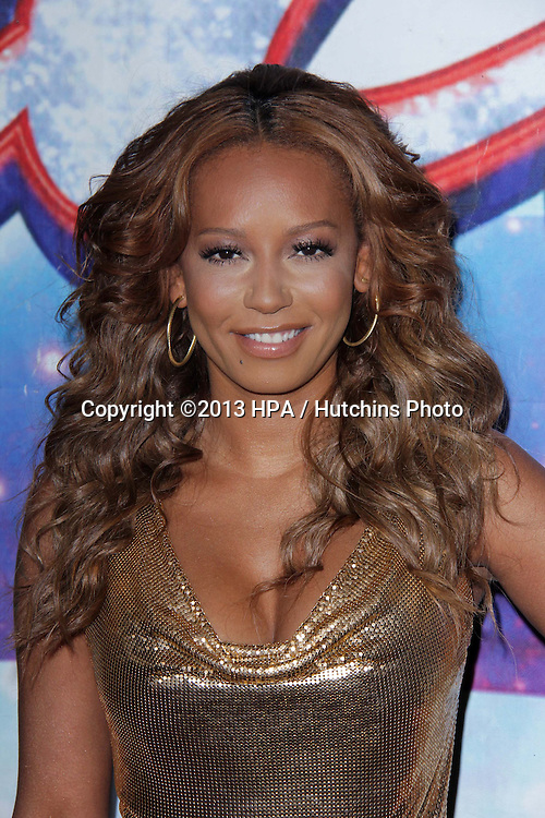 """LOS ANGELES - APR 24:  Mel B, aka Melanie Brown arrives at the """"America's Got Talent"""" Los Angeles Auditions at the Pantages Theater on April 24, 2013 in Los Angeles, CA"""