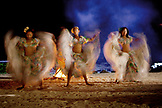 MAURITIUS, Sega dancers perform at Hotel Shanti Maurice which is located on the Southern coast of Mauritius