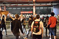 SAO PAULO, SP, 07 de junho 2013- Consentracao de manifestante contra o aumento da Tarifa na Marginal Pinheiros FOTO:ADRIANO LIMA / BRAZIL PHOTO PRESS).