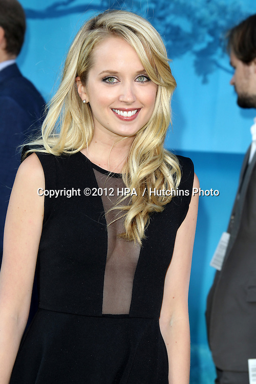 "LOS ANGELES - JUN 18:  Megan Park arrives at the ""Brave"" LAFF Premiere at Dolby Theatre on June 18, 2012 in Los Angeles, CA"