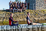 Generation: : Future generation rowers Luke Bishop and Stephen Gannon with fellow rowers from Tralee Rowing Club on Monday