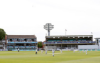 Frank Wooley and Colin Cowdrey stands during the Specsavers County Championship Div 2 game between Kent and Sussex at the St Lawrence Ground, Canterbury, on May 11, 2018