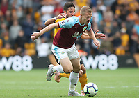 Burnley's Matej Vydra<br /> <br /> Photographer Rachel Holborn/CameraSport<br /> <br /> The Premier League - Wolverhampton Wanderers v Burnley - Sunday 16th September 2018 - Molineux - Wolverhampton<br /> <br /> World Copyright &copy; 2018 CameraSport. All rights reserved. 43 Linden Ave. Countesthorpe. Leicester. England. LE8 5PG - Tel: +44 (0) 116 277 4147 - admin@camerasport.com - www.camerasport.com