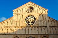 The Romanesque  St Anastasia Cathedral. Zadar, Croatia