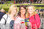 Deirdre Gormley, Karen Bruton and Janet O'Sullivan Killarney looking for winners at the Killarney Races on Sunday