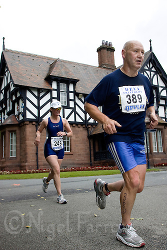 22 JUN 2008 - CHESTER, GBR - James Stronach - Deva Triathlon. (PHOTO (C) NIGEL FARROW)