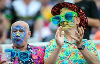 Fans enjoy the atmosphere inside the stadium <br /> <br /> Photographer Alex Dodd/CameraSport<br /> <br /> Betfred Super League Round 15 - Magic Weekend - Wigan Warriors v Warrington Wolves - Saturday 19th May 2018 - St James' Park - Newcastle<br /> <br /> World Copyright &copy; 2018 CameraSport. All rights reserved. 43 Linden Ave. Countesthorpe. Leicester. England. LE8 5PG - Tel: +44 (0) 116 277 4147 - admin@camerasport.com - www.camerasport.com