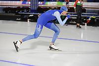 SPEEDSKATING: CALGARY: Olympic Oval, 30-11-2017, ISU World Cup training, Håvard Holmefjord Lorentzen (NOR), ©photo Martin de Jong
