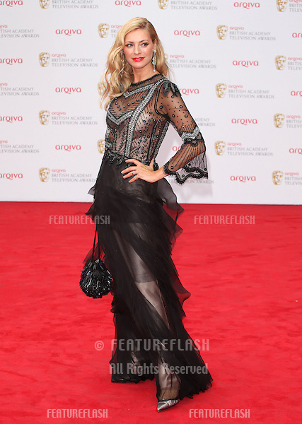 Tess Daly arriving for the TV BAFTA Awards 2013, Royal Festival Hall, London. 12/05/2013 Picture by: Alexandra Glen / Featureflash