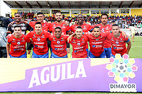 IPIALES - COLOMBIA, 14-07-2019: Jugadores del Pasto posan para una foto previo al partido por la fecha 1 de la Liga Águila II 2019 entre Deportivo Pasto e Independiente Santa Fe jugado en el estadio Estadio Municipal de Ipiales. / Players of Pasto pose to a photo prior match for the date 1 as part of Aguila League II 2019 between Deportivo Pasto and Independiente Santa Fe played at Municipal stadium of Ipiales.  Photo: VizzorImage / Leonardo Castro / Cont